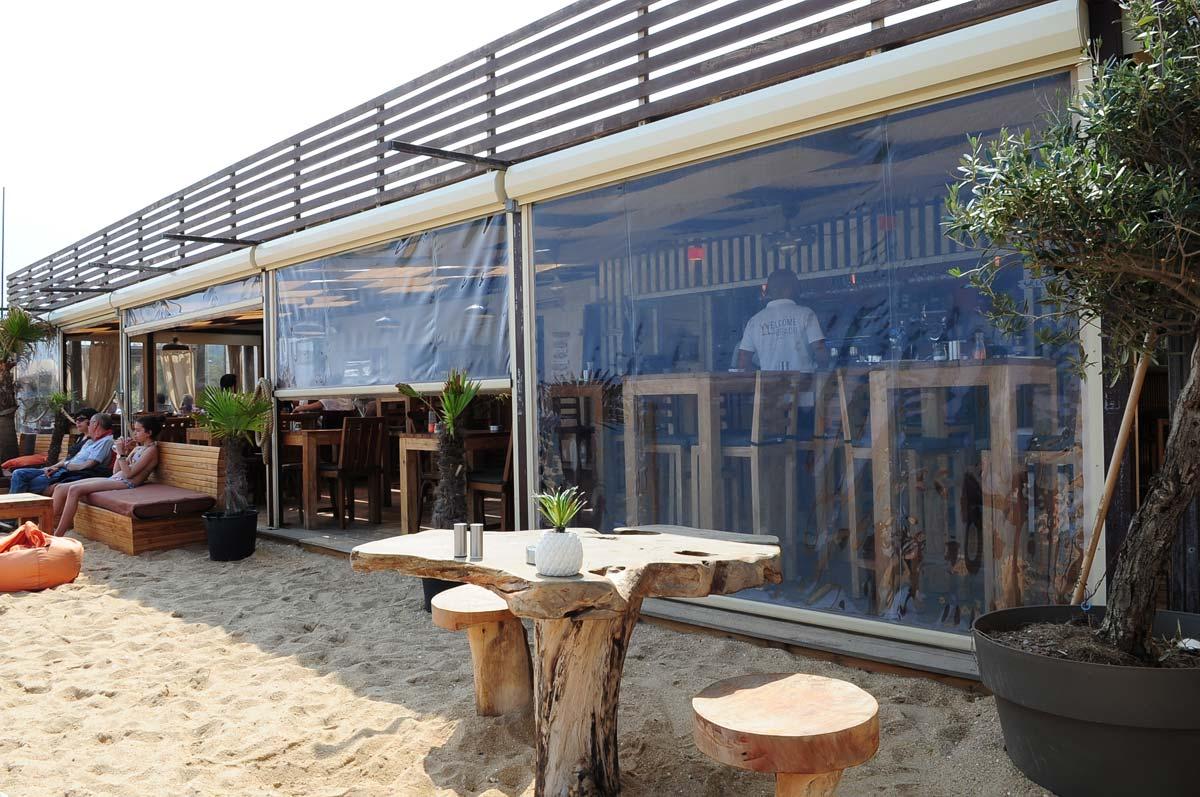 Velum Restaurant Azur Baches